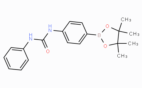 (4-(3-Phenylureido)phenyl)boronic acid pinacol ester