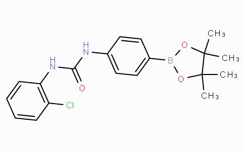 (4-(3-(2-Chlorophenyl)ureido)phenyl)boronic acid pinacol ester