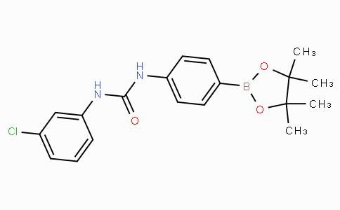 (4-(3-(3-Chlorophenyl)ureido)phenyl)boronic acid pinacol ester