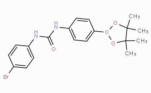 (4-(3-(4-Bromophenyl)ureido)phenyl)boronic acid pinacol ester