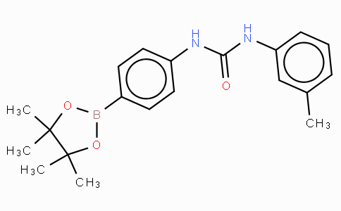 (4-(3-(3-Methyphenyl)ureido)phenyl)boronic acid pinacol ester