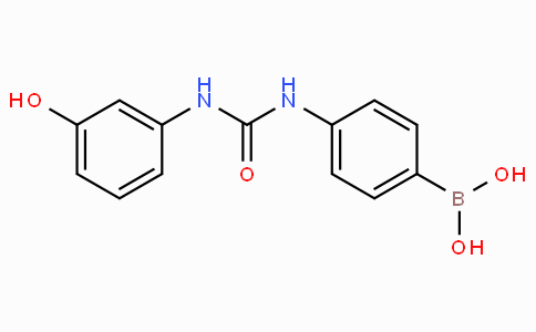 (4-(3-(3-Hydroxyphenyl)ureido)phenyl)boronic acid