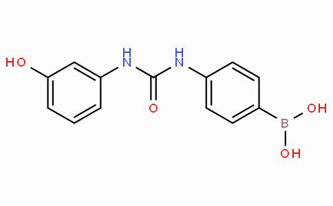 (4-(3-(3-Hydroxyphenyl)ureido)phenyl)boronic acid