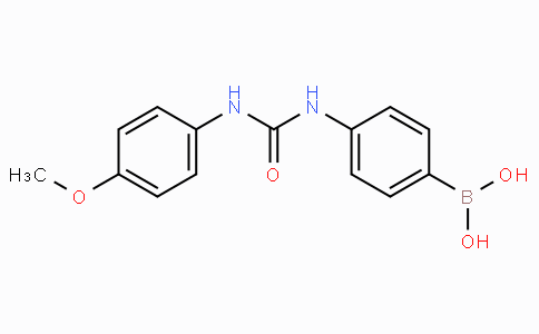 (4-(3-(4-Methoxyphenyl)ureido)phenyl)boronic acid