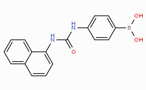 (4-(3-(Naphthalen-1-yl)ureido)phenyl)boronic acid