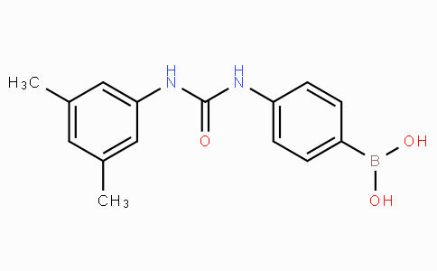 (4-(3-(3,5-Dimethylphenyl)ureido)phenyl)boronic acid