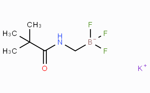 Potassium trifluoro(pivalamidomethyl)borate