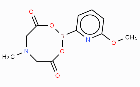6-Methoxy-2-pyridinylboronic acid MIDA ester