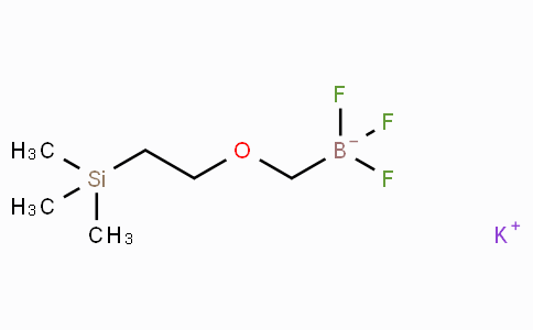 Potassium trifluoro((2-(trimethylsilyl)ethoxy)methyl)borate