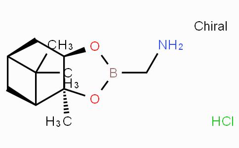 (3AS,4S,6S,7AR)-六氢-3A,5,5-三甲基-4,6-甲桥-1,3,2-苯并二氧硼烷-2-甲胺盐酸盐