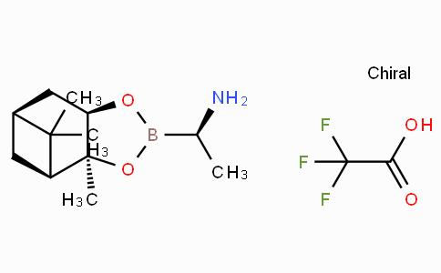 [3aS-[2(S*),3aa,4b,6b,7aa]]-六氢-3a,5,5-三甲基-alpha-(1-甲基乙基)-4,6-甲桥-1,3,2-苯并二氧硼烷-2-甲胺三氟乙酸盐