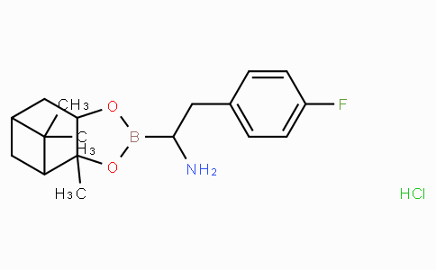 (R)-Boro-4-F-Phe-(+)-Pinanediol-HCl