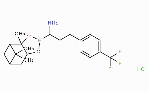 (R)-Borohomo(4-CF3)Phe-(+)-Pinanediol-HCl