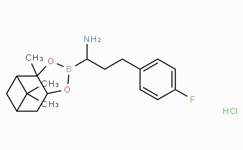 (R)-Borohomo(4-F)Phe-(+)-Pinanediol-HCl