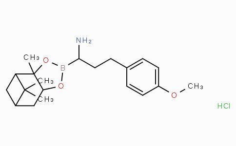 (R)-Borohomo(4-OMe)Phe-(+)-Pinanediol-HCl