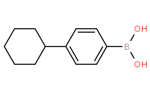 4-Cyclohexylbenzeneboronic acid