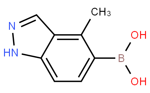 (4-Methyl-1H-indazol-5-yl)boronic acid