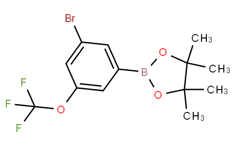 3-Bromo-5-(trifluoromethoxy)phenylboronic acid pinacol ester