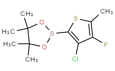 4-Chloro-3-fluoro-2-methylthiophenylboronic acid pinacol ester