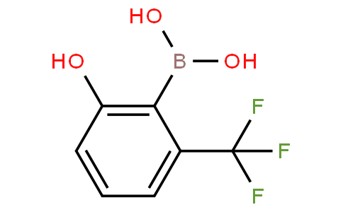 2-Hydroxy-6-trifluoromethylphenylboronic acid