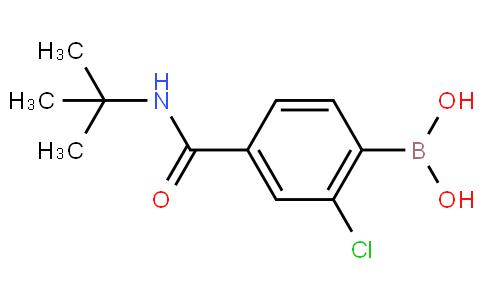 4-tert-Butylcarbamoyl-2-chlorobenzeneboronic acid