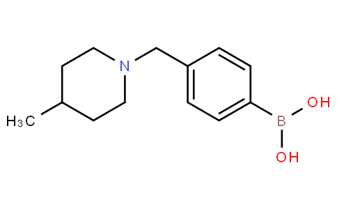 (4-((4-Methylpiperidin-1-yl)methyl)phenyl)boronic acid