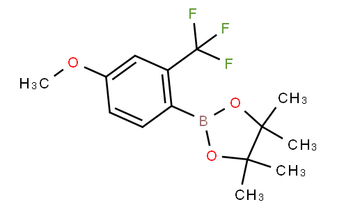 4-Methoxy-2-(trifluoromethyl)phenylboronic acid pinacol ester