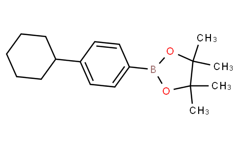 4-Cyclohexylphenylboronic acid pinacol ester