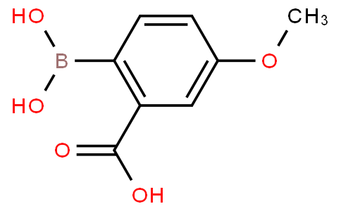 2-Borono-5-methoxybenzoic acid