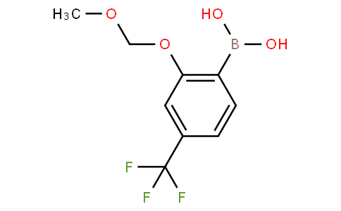 2-Methoxymethoxy-4-(trifluoromethyl)phenylboronic acid
