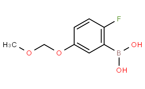 2-Fluoro-5-(methoxymethoxy)phenylboronic acid