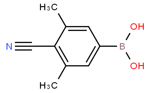 4-Cyano-3,5-dimethylphenylboronic acid