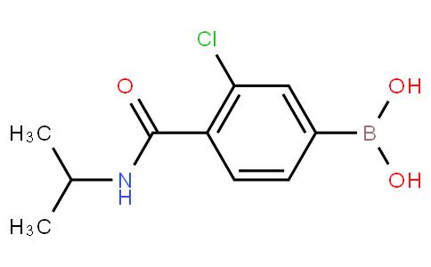 3-Chloro-4-(N-isopropylcarbamoyl)phenylboronic acid