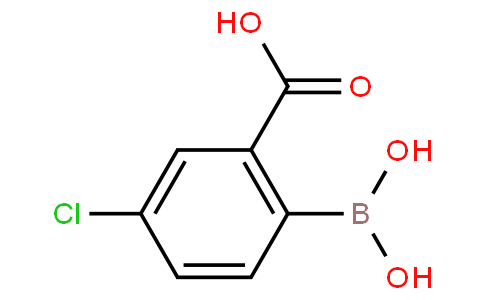 2-Carboxy-4-chlorophenylboronic acid