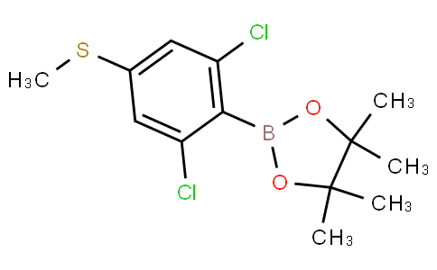 2,6-Dichloro-4-(methylthio)phenylboronic acid pinacol ester
