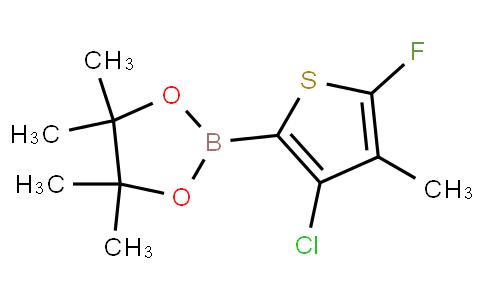 4-Chloro-2-fluoro-3-methylthiophenylboronic acid pinacol ester