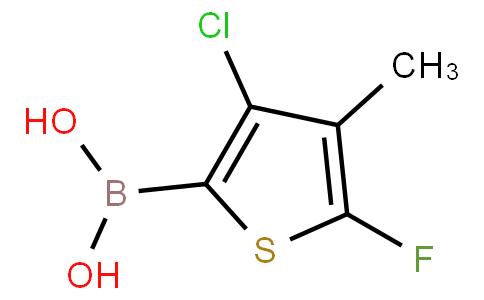 4-Chloro-2-fluoro-3-methylthiophenylboronic acid
