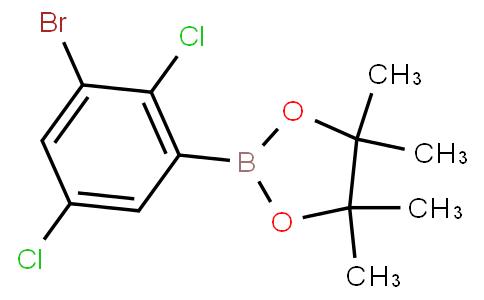 3-Bromo-2,5-dichlorophenylboronic acid pinacol ester