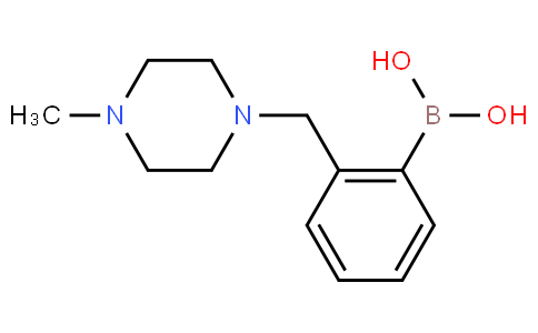 2-((4-Methylpiperazin-1-yl)methyl)phenylboronic acid