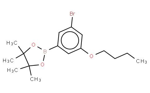 3-Bromo-5-butoxyphenylboronic acid, pinacol ester