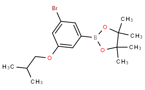 3-Bromo-5-isobutoxyphenylboronic acid pinacol ester