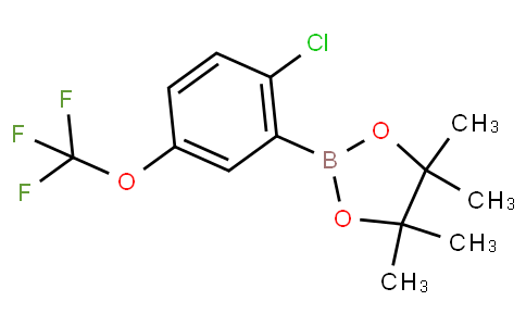 2-Chloro-5-(trifluoromethoxy)phenylboronic acid pinacol ester