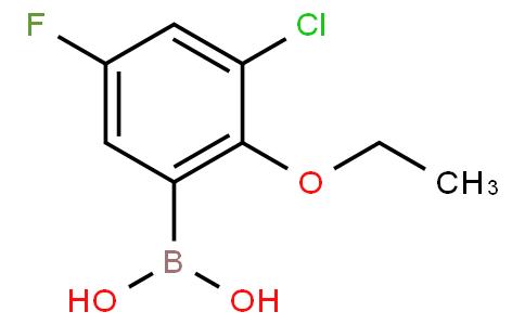 3-Chloro-2-ethoxy-5-fluorophenylboronicacid