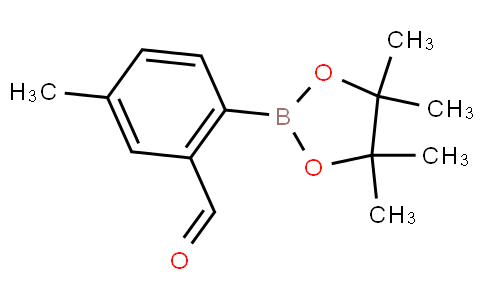 2-Formyl-4-methylphenylboronic acid pinacol ester
