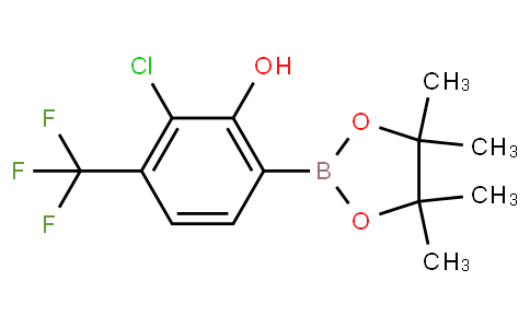 3-Chloro-2-hydroxy-4-(trifluoromethyl)phenylboronic acid pinacol ester