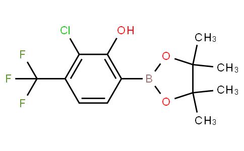 3-Chloro-2-hydroxy-4-(trifluoromethyl)phenylboronic acid pinacol ester