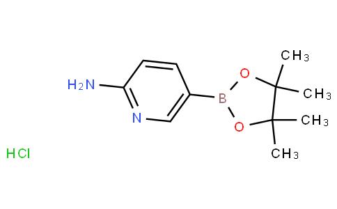 2-Aminopyridine-5-boronic acid pinacol ester hydrochloride