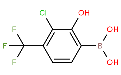 3-Chloro-2-hydroxy-4-(trifluoromethyl)phenylboronic acid