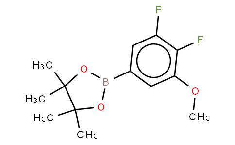 3,4-Difluoro-5-methoxyphenylboronic acid, pinacol ester