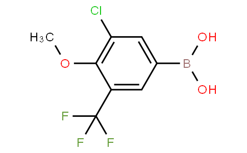 3-Chloro-4-methoxy-5-(trifluoromethyl)phenylboronic acid